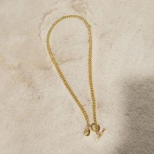 Gold toned Ralph Lauren necklace